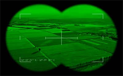 Why is night vision green